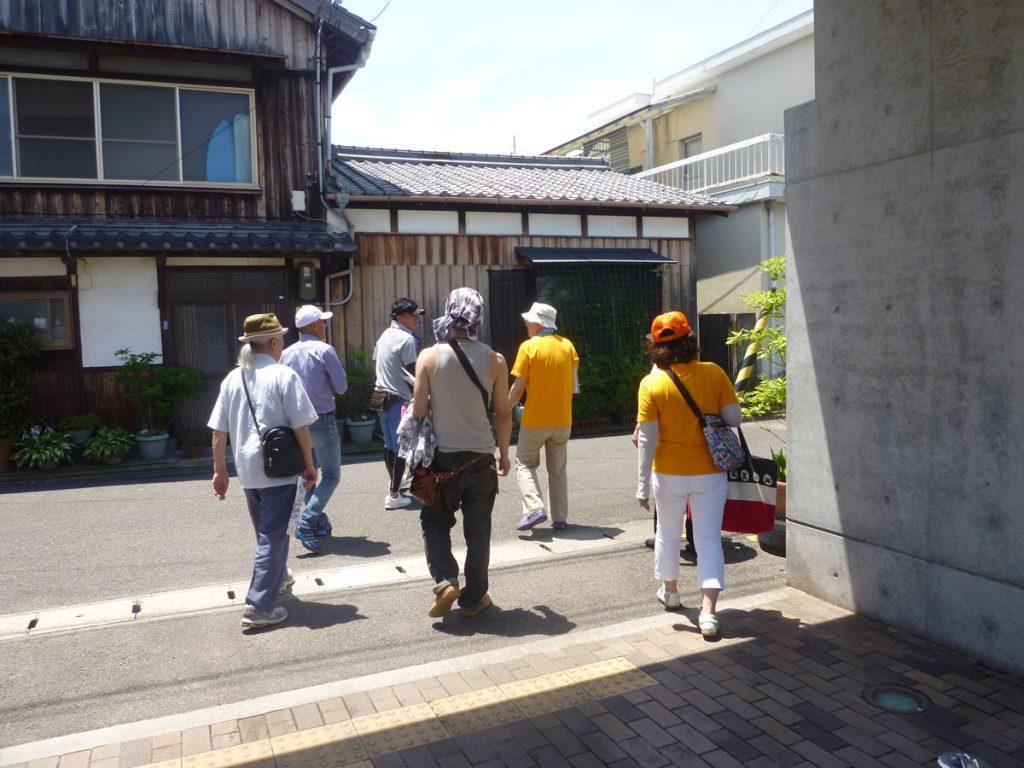 町歩きの写真
