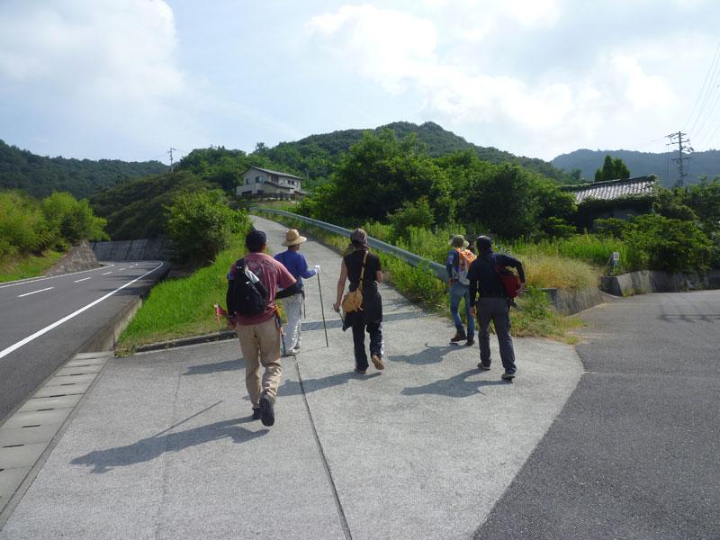 里山歩きの風景1